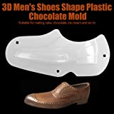 Chocolate Mold 3D Men Shoes Shape Chocolate Cake