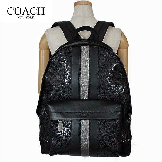 12ca11912720 Amazon | コーチ メンズバッグ リュック レザー ベースボールステッチ バックパック COACH CHARLES BACKPACK WITH  BASEBALL STITCH [並行輸入品] | COACH(コーチ) | ...