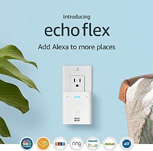 Introducing Echo Flex - Plug-in mini smart speaker with Alexa