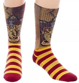 cresta Harry Potter Gryffindor Calcetines rojo amarillo 41-45