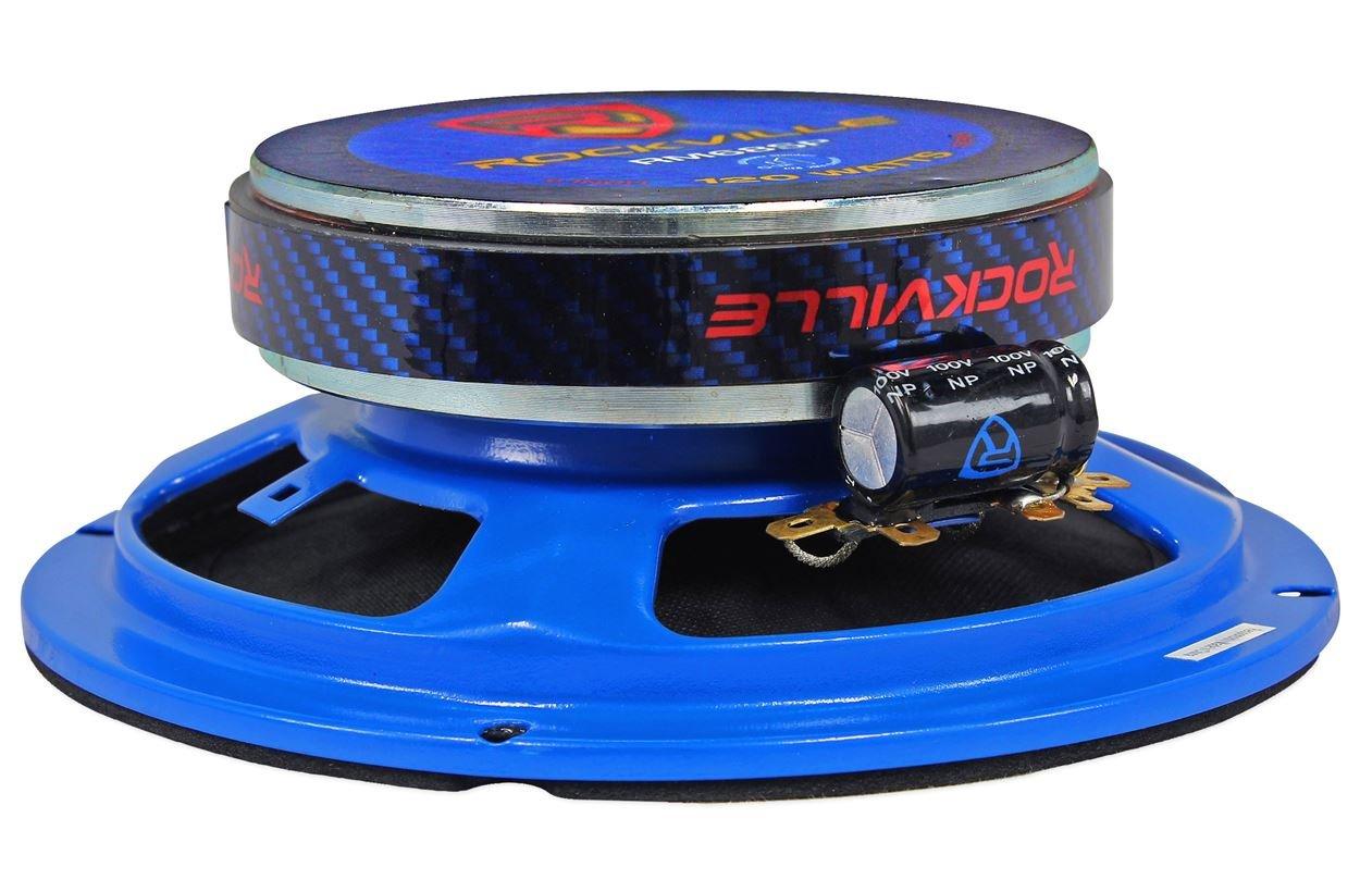 6 Rockville RM68SP CEA Compliant 6.5 480W Midrange Car Speakers 8 Ohm
