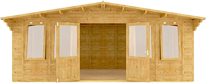 Grandmaster - Cabina alpina de madera para jardín, (caseta de ...