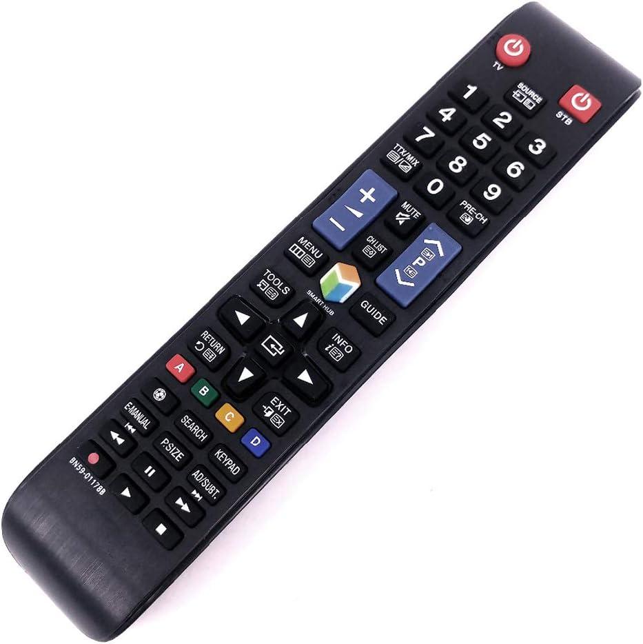 REFURBISHHOUSE Nuevo Control Remoto para Samsung Smart TV BN59-01178B UA55H6300AW UA60H6300AW UE32H5500 UE40H5570 UE55H6200: Amazon.es: Electrónica