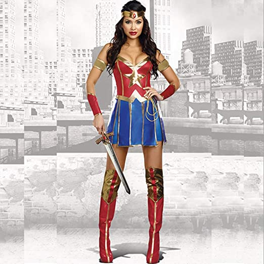 Justice League Superman Clothing Adult Cosplay Wonder Woman ...