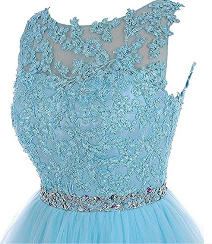 92491dba23 Dydsz Women s Short Prom Dress Homecoming Dresses Beaded Appliques Party  Cocktail D126