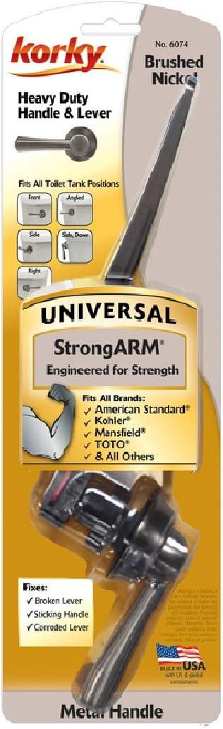 Korky 6074bp Strongarm Flush Lever Metal
