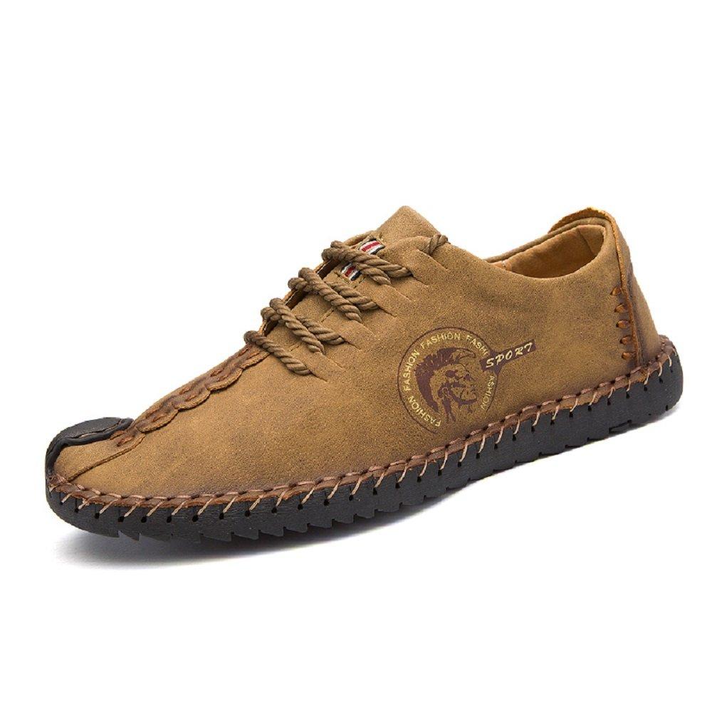 18d775ee2a00 Chaussures de Ville à Lacets pour Homme Cuir Casual SuÉDine Classiques  ÉLÉGantes Oxford Noir Marron Kaki 38-46: Amazon.fr: Chaussures et Sacs