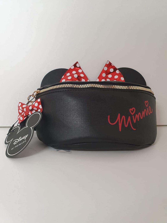 Disney - Riñonera, diseño de Minnie Mouse, Color Negro: Amazon.es: Equipaje