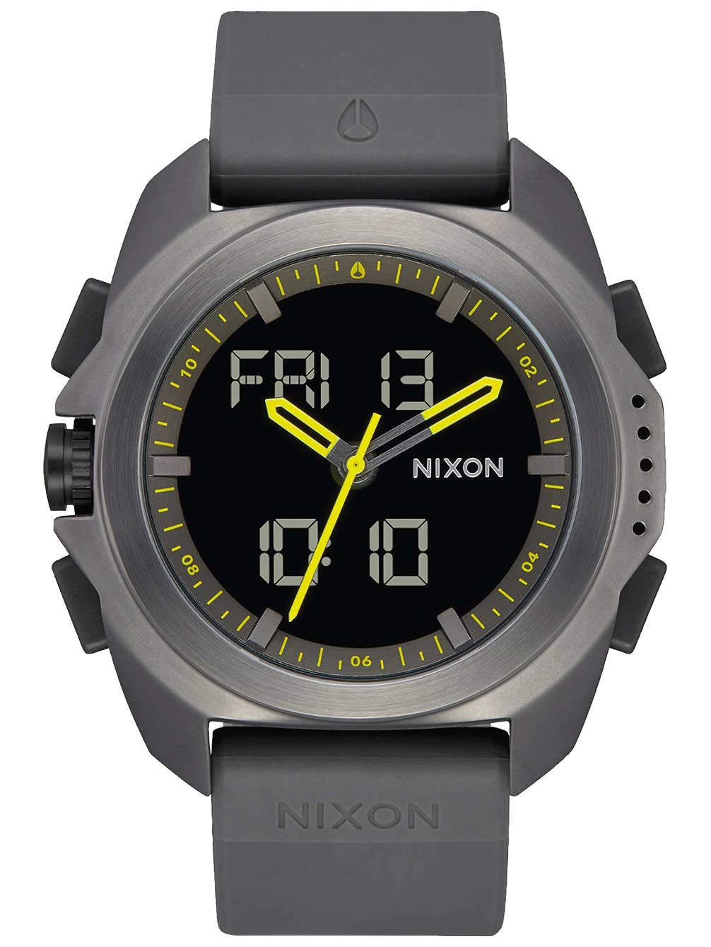 Nixon Ripley Gunmetal One Size by NIXON