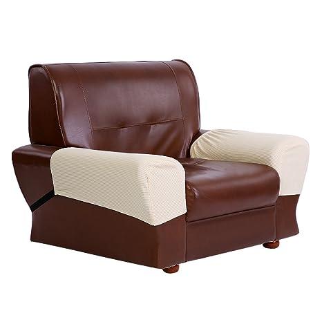 Zerone Funda para sillón, 2 Protectores de sofá Impermeables ...