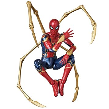 WU LAI Iron Spider Figure Imagen de la película Avengers ...