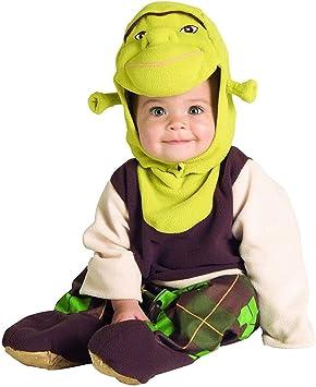 Shrek Disfraz Bebé Suave, poliéster: Amazon.es: Juguetes y juegos