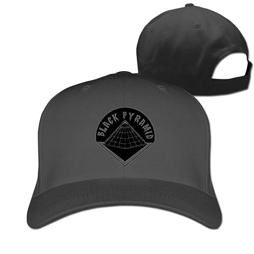 Amazon.com  Men s Unisex BLACK PYRAMID Logo Rock Cap Unisex Snapback ... c2532cb86c9