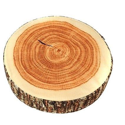 Hengsong Cojín para silla y sofá con diseño de tronco de ...