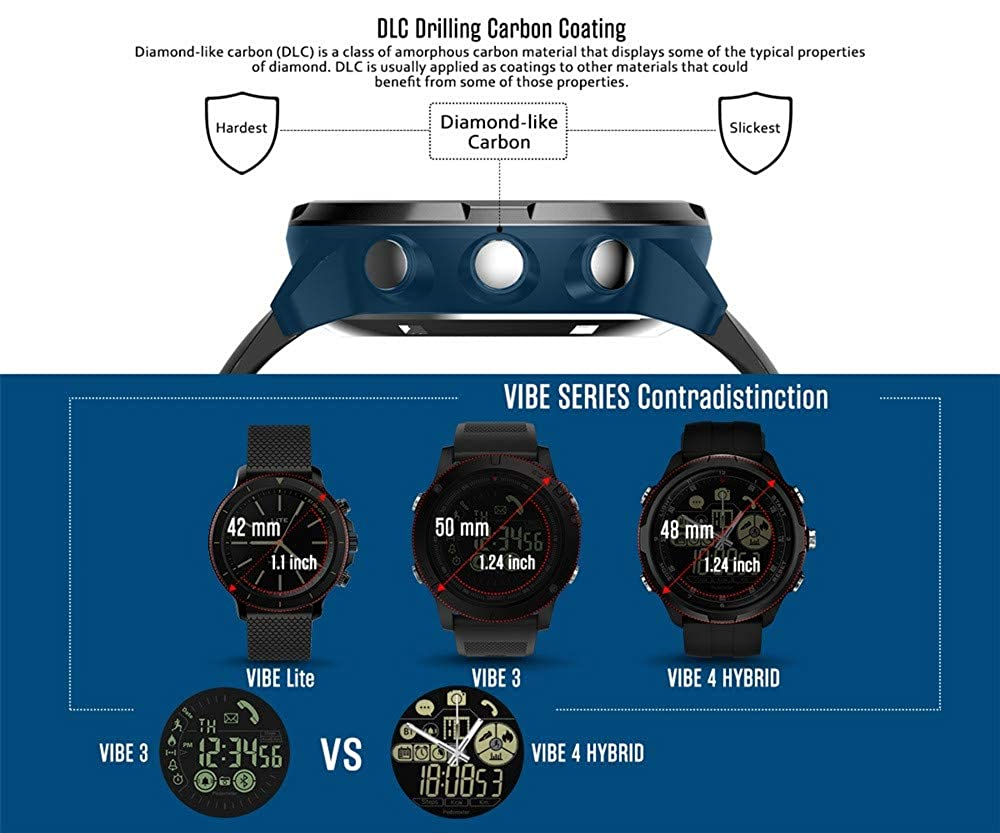 Star_wuvi - Reloj Inteligente para Hombre, iOS/Android: Amazon.es ...