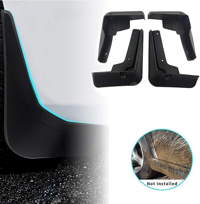 Kadore Car Mud Flaps Splash Mud Guards Fender for Toyota Camry 2019 2018 LE XLE Netural Plastic 4PCS//Set