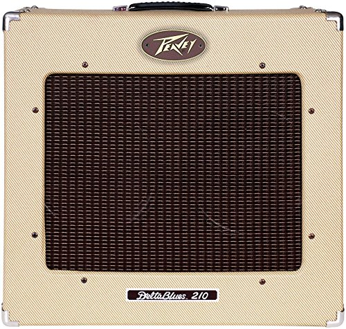 Peavey 03386550 Delta Blues 210 2 x 10 Inches 30-Watt Tube Combo Guitar Amplifier by Peavey