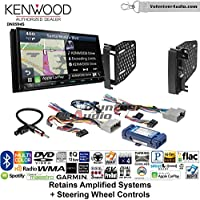 Volunteer Audio Kenwood Excelon DNX994S Double Din Radio Install Kit with GPS Navigation Apple CarPlay Android Auto Fits 2009-2010 Ram 2011-2014 Chrysler 200 (Retains Steering wheel controls)