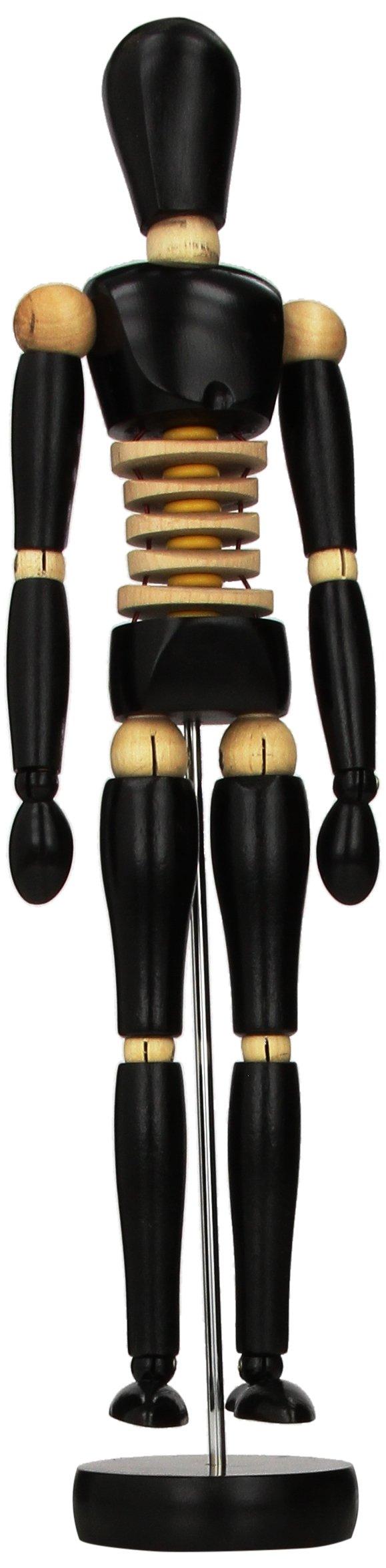 Prima 12-Inch Male Manikin, Black by Prima