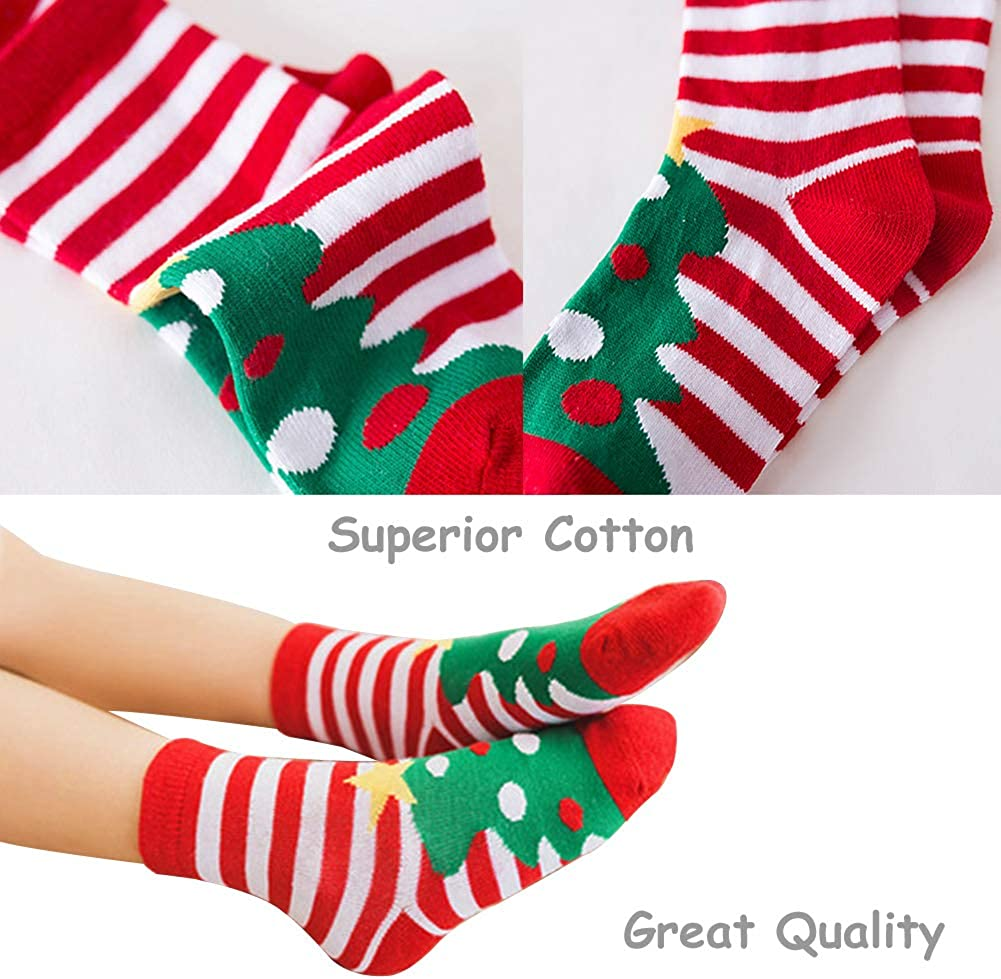Christmas Socks Children Socks Christmas Gift Kid Socks for Kid Boy Girl 5 Pairs