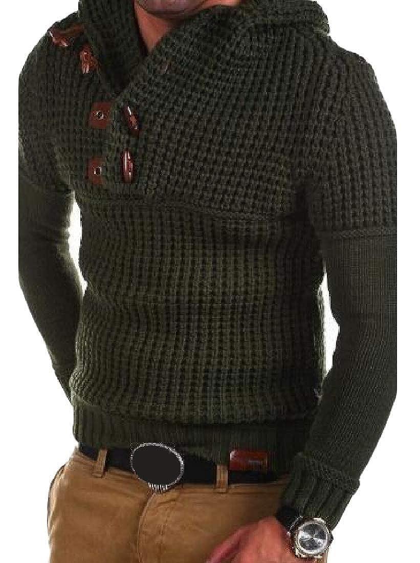 Joe Wenko Mens Long-Sleeve Jumper Pullover Casual Knit Sweaters