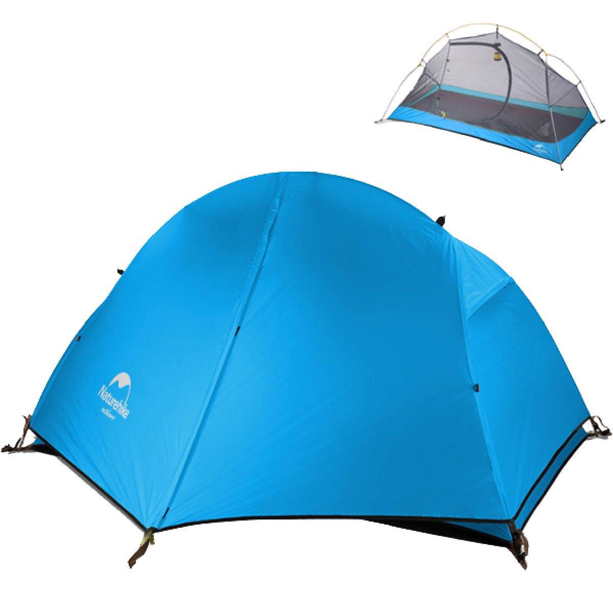 TRIWONDER Tienda de Campa/ña Ligera para 1-2 Personas Carpa con Doble Capa para Playa Acampar al Aire Libre