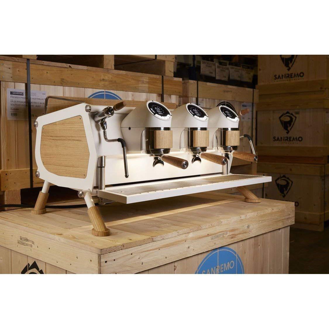 Sanremo Cafe Racer - Máquina automática de café expreso de madera ...