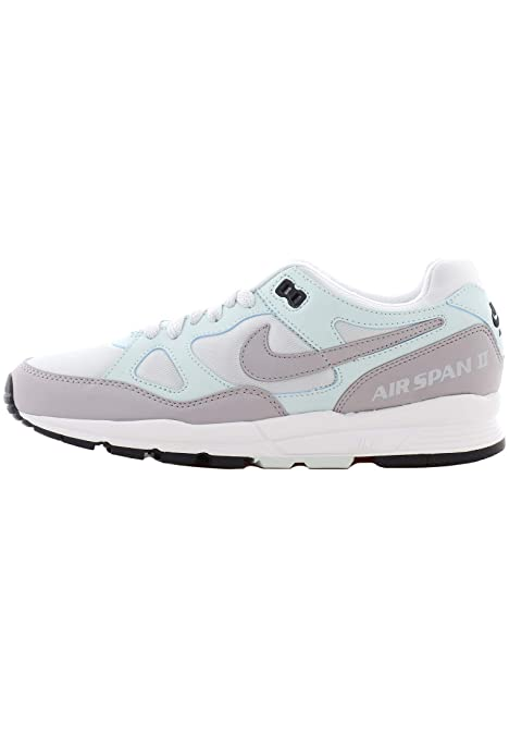 Nike W Air Span II Zapatillas Mujer Plateado: Amazon.es: Zapatos y complementos