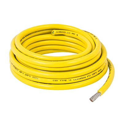 GG Grand General 55024 18 Gauge Yellow Wire, 50 Feet: Automotive
