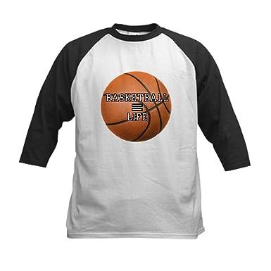 0fac71c5a3c4e Amazon.com: Royal Lion Kids Baseball Jersey Basketball Equals Life ...