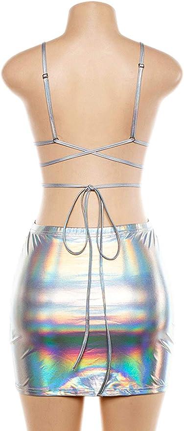 Amazon.com: Vimoisa - Conjunto de traje de dos piezas para ...