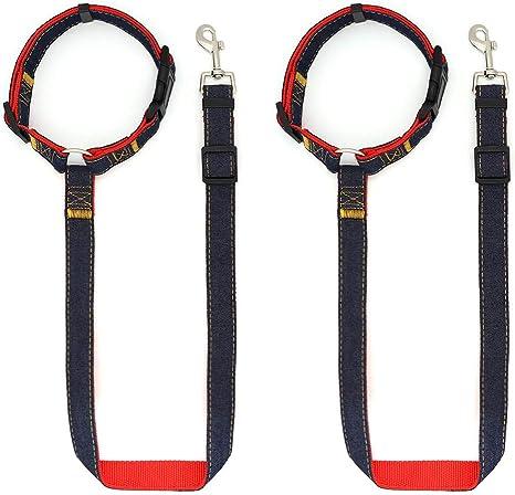 SLSON - Cinturón de Seguridad para Perro con Clip Ajustable para ...