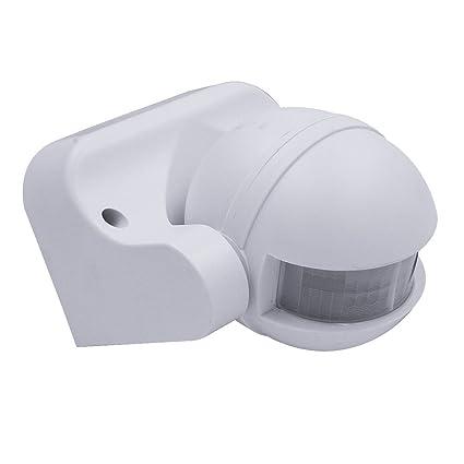 Detector de movimiento COOLWEST, interruptor de sensor de infrarrojos inteligente automático de seguridad