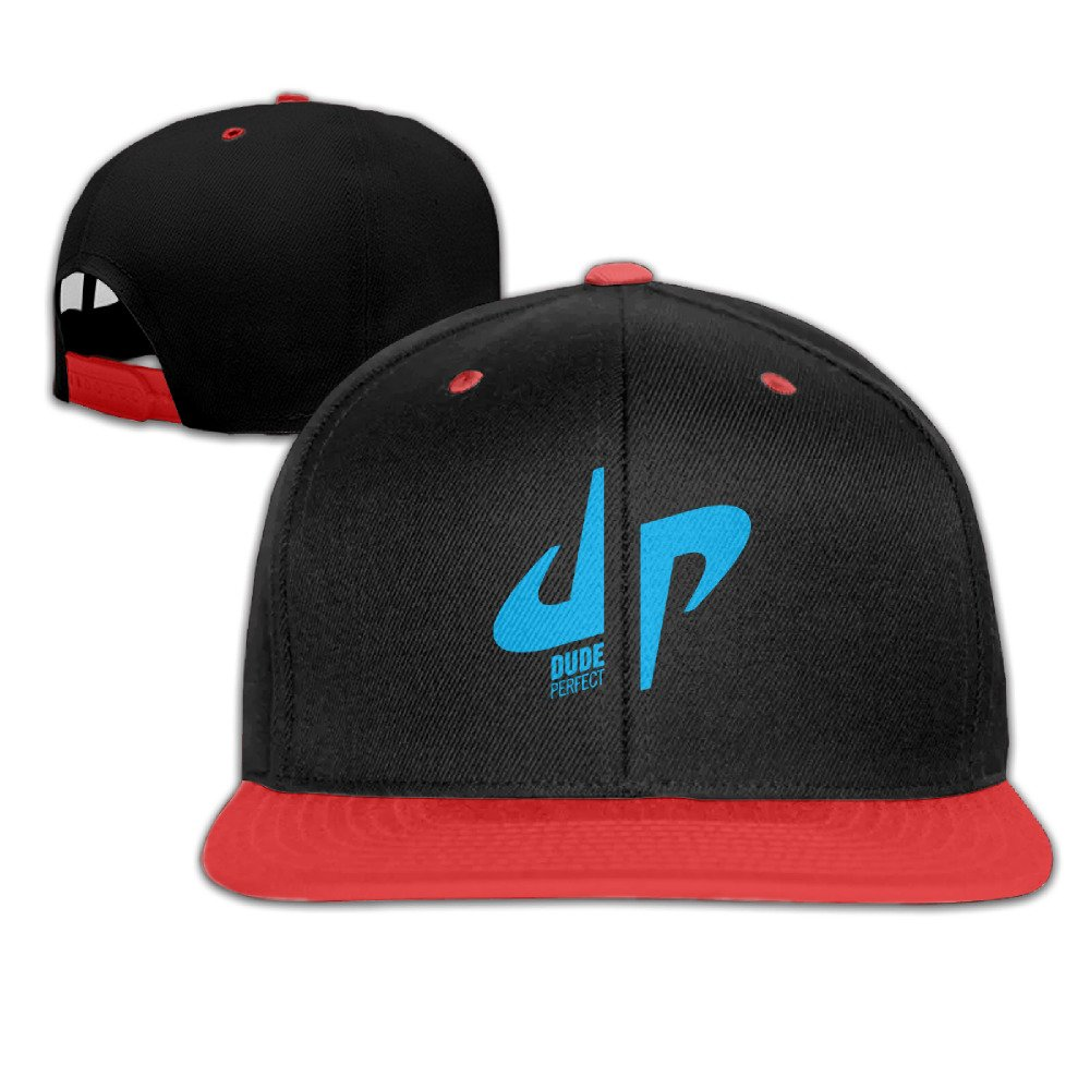 Kualday Kid's DP Logo Dude Perfect Plain Adjustable Snapback Hats Caps