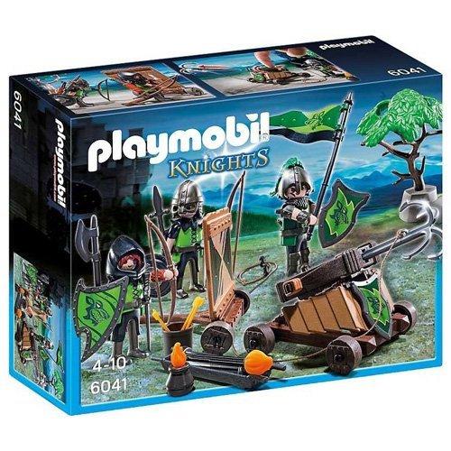 PLAYMOBIL CABALLEROS DEL LOBO CON - Firing Catapult Playmobil
