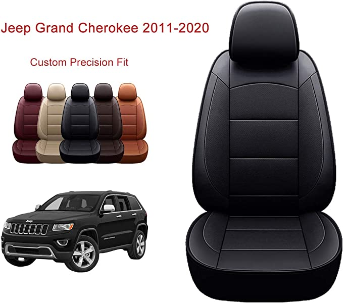 amazon com oasis auto custom fit pu leather seat cover for 2011 2020 grand cherokee automotive oasis auto custom fit pu leather seat cover for 2011 2020 grand cherokee