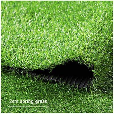 PING- 人工芝の芝生、 高密度フェイクスプリンググラス 厚さ20mm 地面の舗装をする庭のペットに適しています 3サイズ (Color : 2×4m)