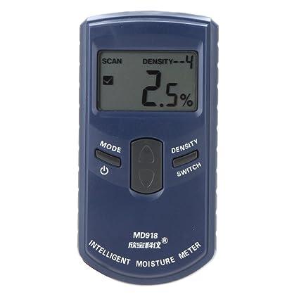 Digital LCD Display SANPO MRange Wood Moisture Meter Humidity Tester Timber Damp Detector Hygrometer termometro higrometro