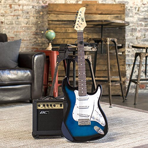 best choice products 39in full size beginner electric guitar starter kit with case strap 10w. Black Bedroom Furniture Sets. Home Design Ideas
