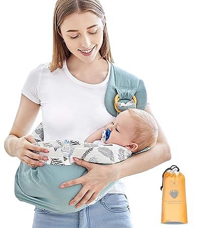 prezzo basso gamma esclusiva prezzo più basso con Azeekoom Marsupio Neonati, Porta Bebè Copertura Infermieristica ...