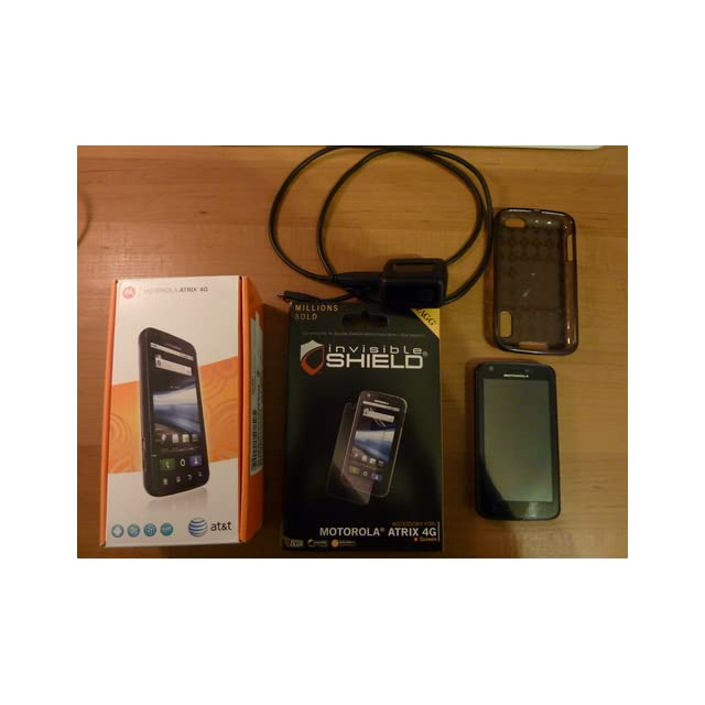 Motorola Atrix 4G MB861 Unlocked GSM Phone with Android 2.2 OS, Dual Core, 5MP Camera, GPS, Wi Fi and Bluetooth   Black