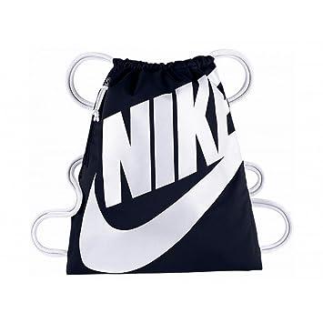 6903d42796 Nike Heritage Gymsack Sac à Dos, Femme, Bleu Marine (Bleu) - BA5351 ...