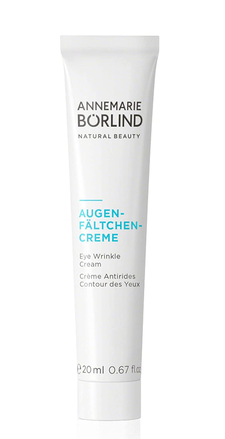ANNEMARIE BÖRLIND – Eye Wrinkle Cream – Natural Vitamin C + E Anti Aging Eye Cream for Smoothed, Brighter, and Plump Skin With New Elasticity – 0.67 Oz