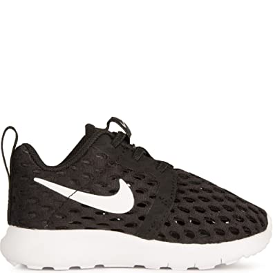 finest selection 44c3a d5468 Nike Boy s Roshe One Flight Weight (PS) Black White (US 2.