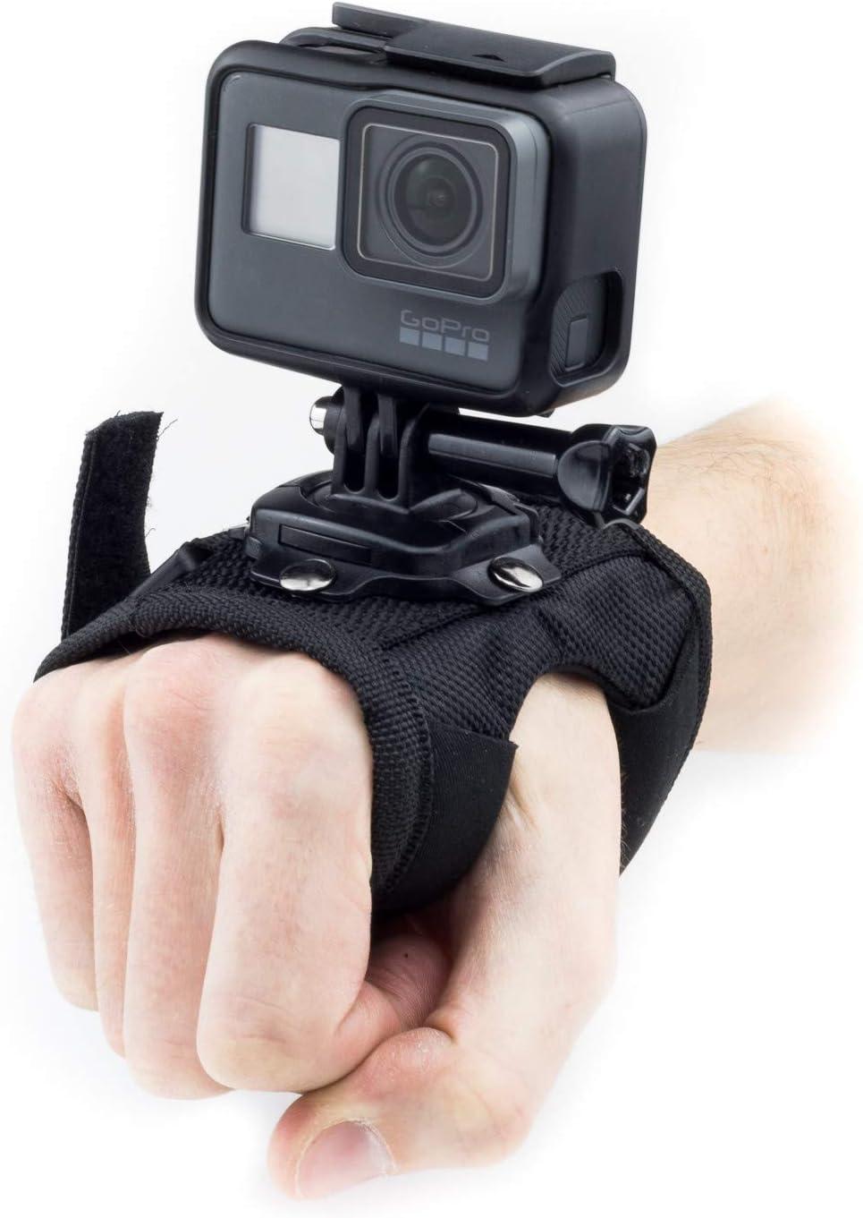 Cámara de acción Montada a mano Correa de muñeca para GoPro Hero Akaso Crosstour Campark Fitfort Garmin VIRB Apeman Sony Camkong Motorola Victure ...