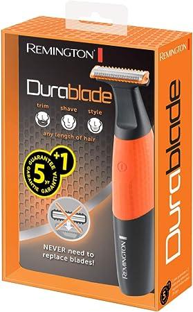Remington MB010 Durablade - Barbero, sin substituir cuchillas, 100% resistente al agua, peines para barba corta de 1, 2, 4 y 6mm