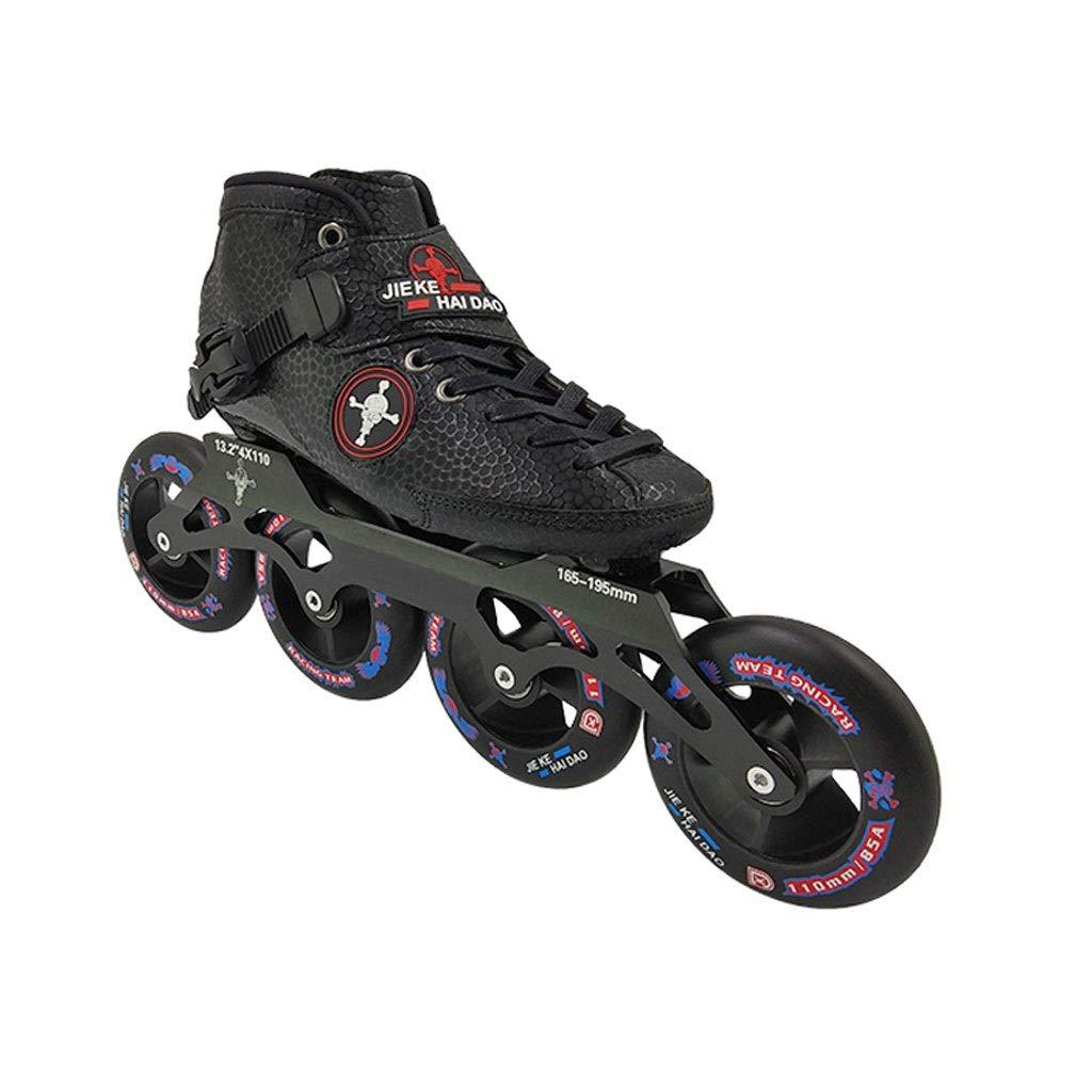 Ailj Inline Skates, Professionelles Hochelastisches PU4X100MM Verschleißrad Einreihige Schlittschuhe Für Kinder 3 Farben B07Q64N1H5 Inline-Skates Im Gegensatz zu dem gleichen Absatz