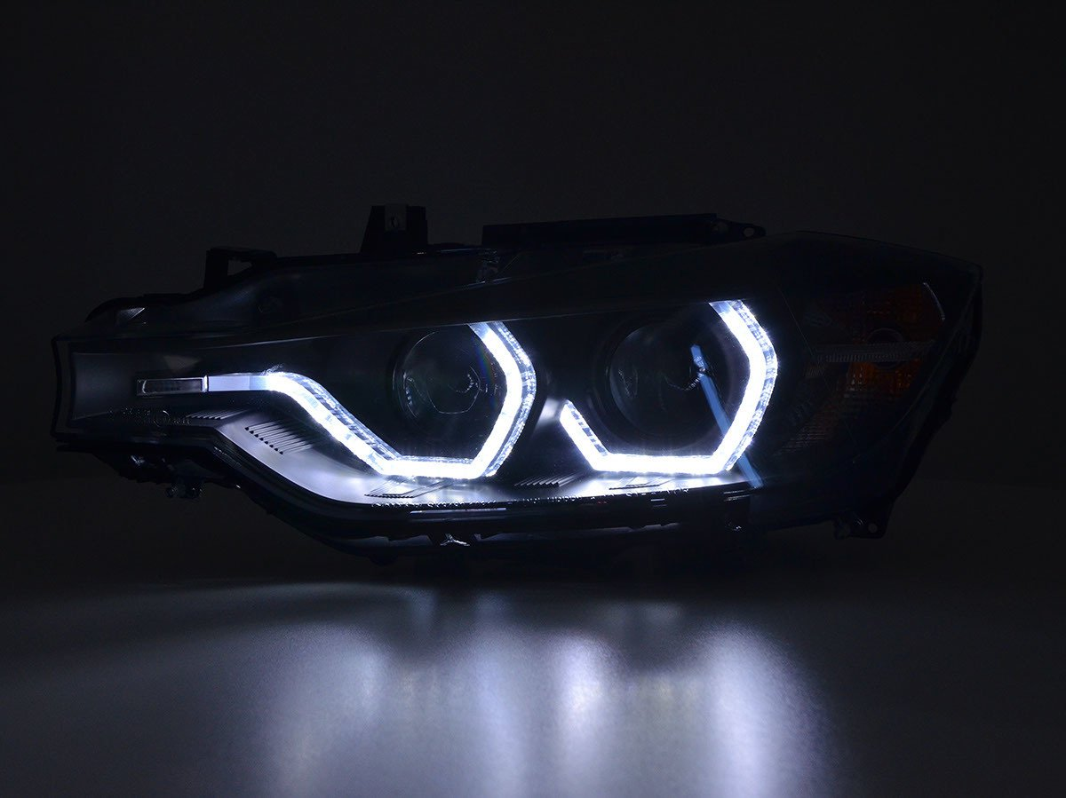 FK de Automotive FK - Faros Daylight LED Luz diurna Negro fksfsbm17025: Amazon.es: Coche y moto