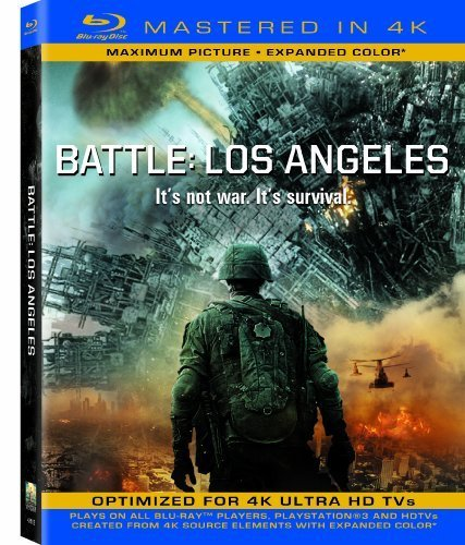 Battle Los Angeles (Mastered in 4K) (Single-Disc Blu-ray + Ultra Violet Digital Copy) by Sony Pictures Home Entertainment