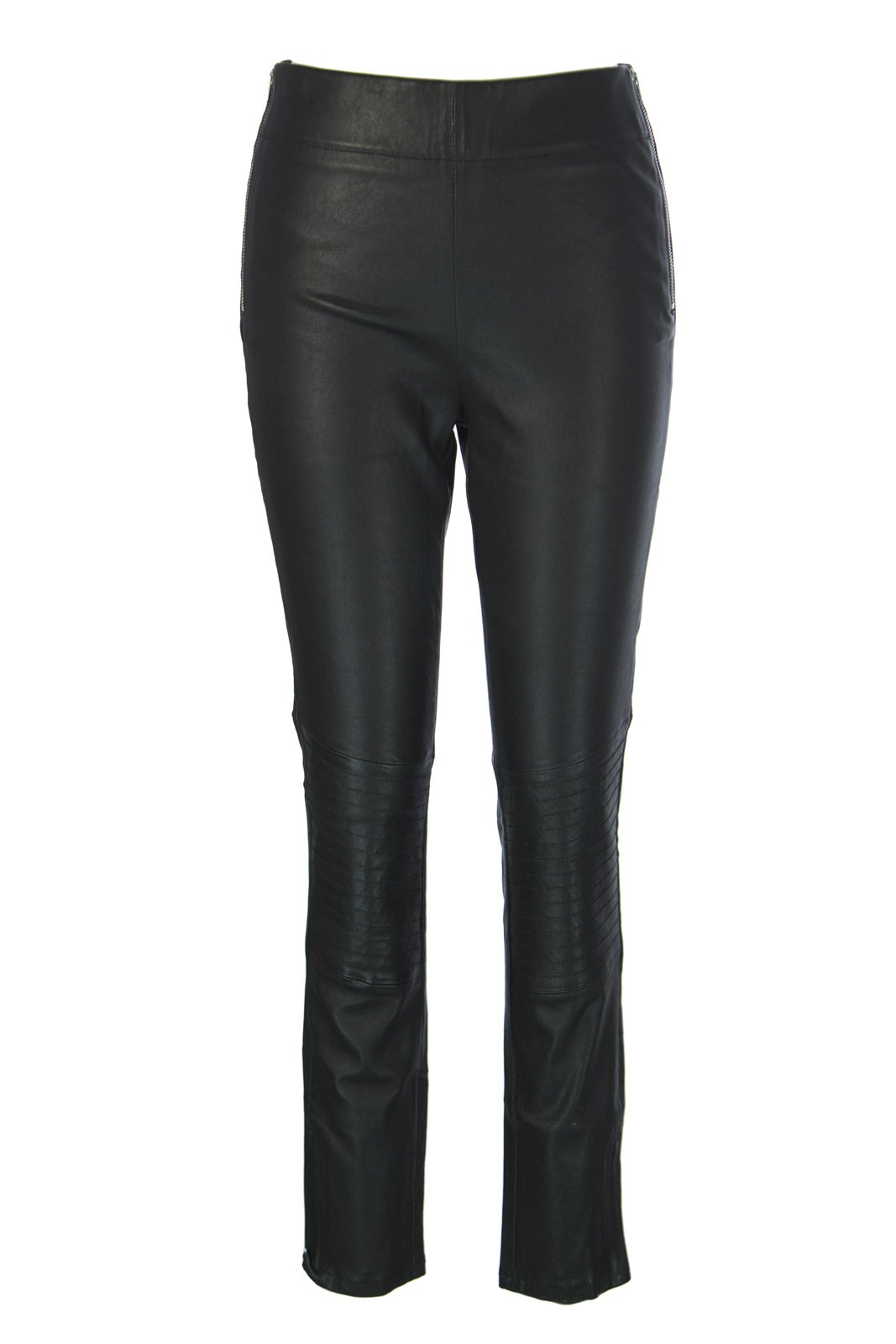 Surface to Air Women's Leather Ella Leggings 40 Black